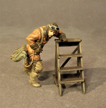 Ltn. Wilhelm Leusch, Jasta 19, October 1918, Knights of the Skies, single figure and ladder
