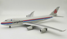 Cargolux Airlines International Boeing 747-400 LX-PCV With Stand, Limited 84 Models