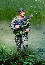 Vietnam Col Mike Kirby Figure