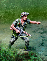 Vietnam LRRP Pointing Figure