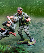 Vietnam LRRP Slicing Figure