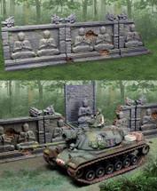 Vietnam Buddha Walls Set 3 Pieces