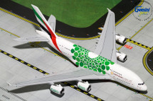 Emirates A380-800 (EXPO 2020, Green) Gemini Diecast Display Model