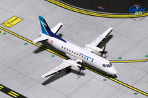WestJet SAAB SF-340B C-GPCF Gemini Diecast Display Model