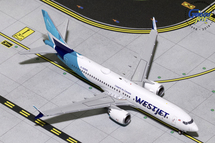 WestJet Boeing 737 MAX 8 C-GZSG Gemini Diecast Display Model