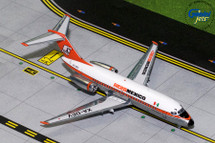 AeroMexico DC-9-15 (Polished) XA-DEV Gemini Diecast Display Model