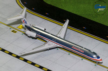 American Airlines McDonnell Douglas MD-83 N9621A Gemini Diecast Display Model
