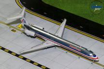 American Airlines McDonnell Douglas MD-83 N9621A Gemini Diecast Display Model