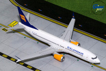 Iceland Air B737 MAX-8 (New Livery) TC-ICE Gemini Diecast Display Model