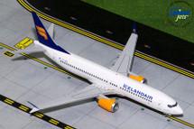 Iceland Air B737 MAX-8 (New Livery) TC-ICE Gemini Diecast Display Model