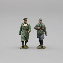 Regimental Commander Wilhelm Mohnke from WWII, single figure