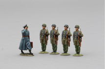 Bernhard Ramcke and Four Honour Guard Fallschirmjager Special Set, WWII