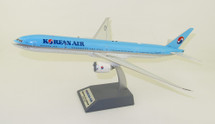 Korean Air Boeing 777-3B5/ER HL7203 with stand