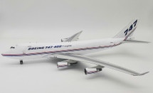 Boeing 747-428F/SCD N6005C with stand
