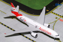 Austrian Airlines 777-200ER, OE-LPF Gemini Diecast Display Model