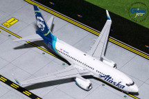 Alaska Airlines 737-700, N614AS Gemini Diecast Display Model