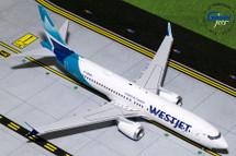 WestJet Airlines 737 MAX 8, C-GZSG Gemini Diecast Display Model