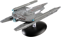 "USS Kobayashi Maru ""ECS-1022"" Federation Starship Star Trek Model w/ Collector Magazine"