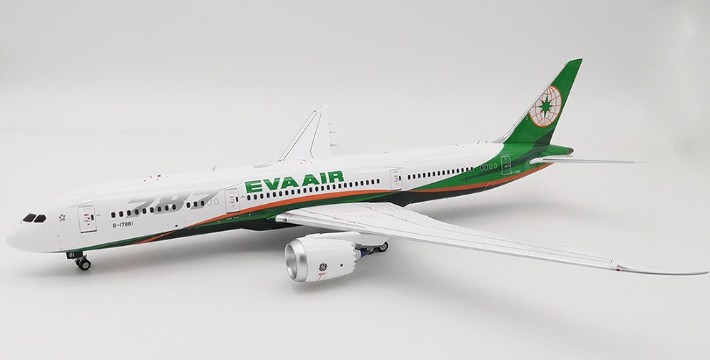 Eva Air Boeing 787-9 Dreamliner B-17881 With Stand