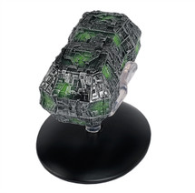 Borg Probe Starship by Eaglemoss Collections w/ Collector Magazine
