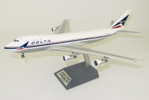 Delta Air Lines Boeing 747-100 N9896 Polished With Stand limited 96 models