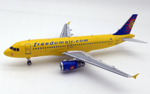 Freedom Air Airbus A320-200 ZK-OJK With Stand