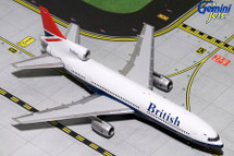 British Ariways Lockheed L-1011 TriStar, G-BBAG Gemini Diecast Display Model