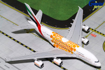 Emirates Airlines Airbus A380-800, A6-EOU Gemini Diecast Display Model