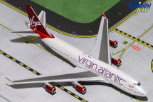 Virgin Atlantic Airways 747-400, G-VBIG Gemini Diecast Display Model