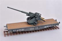 128mm Flak 40 Anti-Aircraft Railway Car German Army, World War II (Plastic)