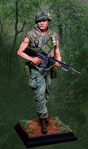 Limited Edition U.S. Soldier Vietnam from The Collectors Showcase