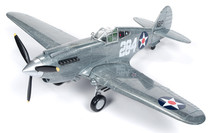 P-40B Tomahawk #2 1941 WWII Brushed Metal Special Edition