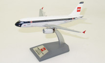 British Airways and BEA A319 G-EUPJ with stand 100 year anniversary
