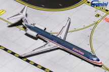 American MD-80 (Polished) N9621A Gemini Diecast Display Model