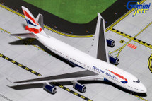 British Airways B747-400 G-BYGF Gemini Diecast Display Model