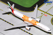 Emirates B777-300ER (Orange Expo 2020) A6-EPO Gemini Diecast Display Model