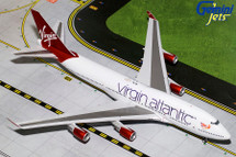 Virgin Atlantic Airways 747-400, G-VBIG Flaps Up Gemini Diecast Display Model