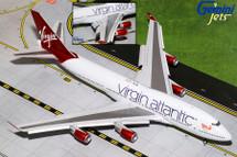 Virgin Atlantic Airways B747-400, Flaps Down G-VBIG Gemini Diecast Display Model