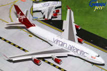 Virgin Atlantic Airways B747-400, Flaps Down G-VBIG Gemini Diecast Display Model