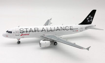 Star Alliance Swiss International Air Lines A320-211 HB-IJO With Stand