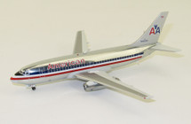 American Airlines Boeing 737-200 N466AC Polished With Stand