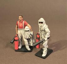 Hot Papas, Two Figures, USS Saratoga Interwar Aviation Collection