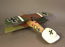 Albatros DIII OAW, Jasta 2 Boelcke, June 1917, Ltn. Werner Voss, Knights of the Skies
