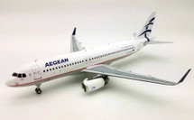 Aegean Airlines Airbus A320 SX-DNA With Stand