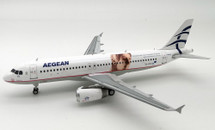 Aegean Airlines Airbus A320 SX-DVV With Stand