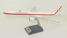 Garuda Indonesia Boeing 777-300ER PK-GIK `Retro` With Stand