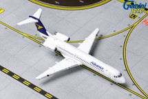 Alliance Airlines Fokker F100, VH-UQC Gemini Diecast Display Model