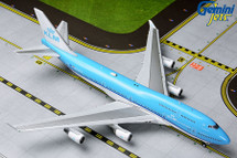 KLM Royal Dutch Airlines 747-400, PH-BFW Gemini Diecast Display Model