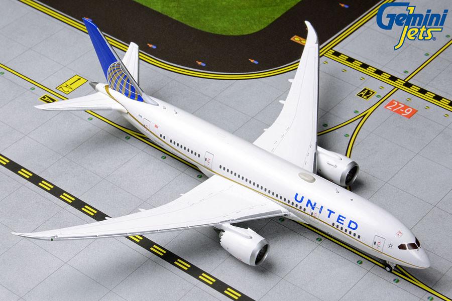 REG# N38950 New Gemini200 United Boeing 787-9 Dreamliner G2UAL530 1//200