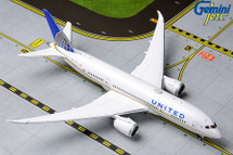 United Airlines 787-8 Dreamliner, N27908 Gemini Diecast Display Model